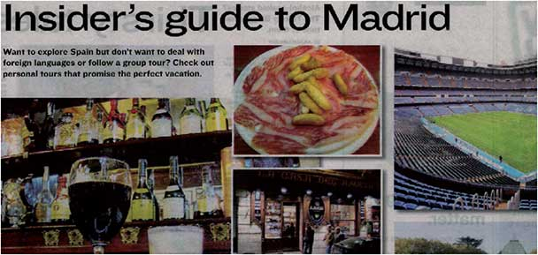 Insider´s guide to Madrid
